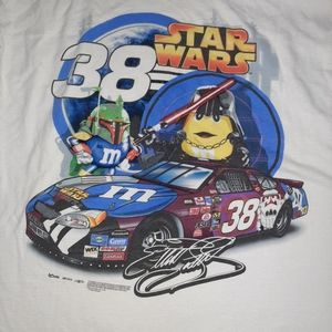 Nascar #38 Star Wars Elliott Sadler T Shirt